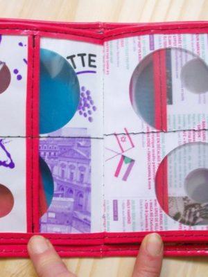 Porte-8-cartes et documents